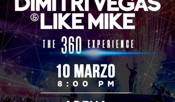 Dimitri Vegas & Like Mike 2018 – CDMX