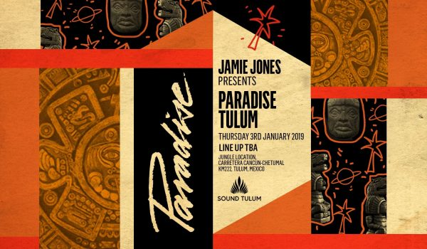 GIG: SOUND TULUM PRESENTA JAMIE JONES