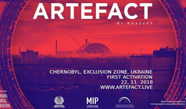 ARTEFACT sera el primer rave en chernobyl