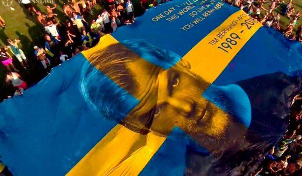 Especial: La gran bandera de avicii generara fondos para la prevención del suicidio