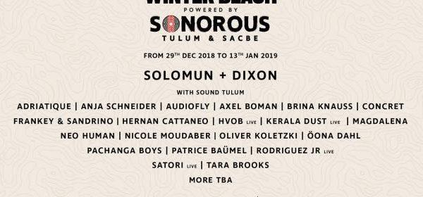 GIG: El festival Sonorous México 2019 esta por comenzar