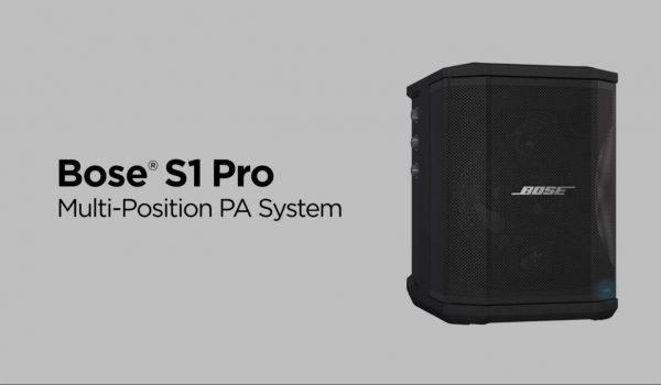 TECH: Libertad y autonomía Bose S1 Pro