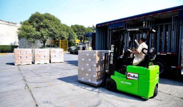 News: Grupo Modelo dona más de 18 mil botellas de gel antibacterial al IMSS