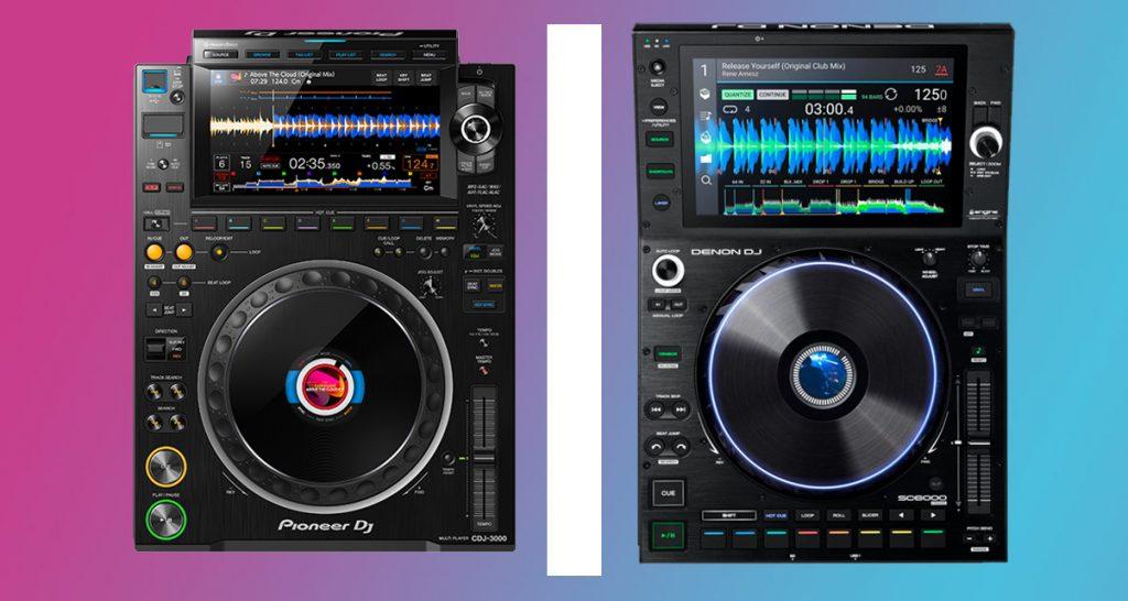 Pioneer CDJ3000 vs Denon DJ SC6000 Prime