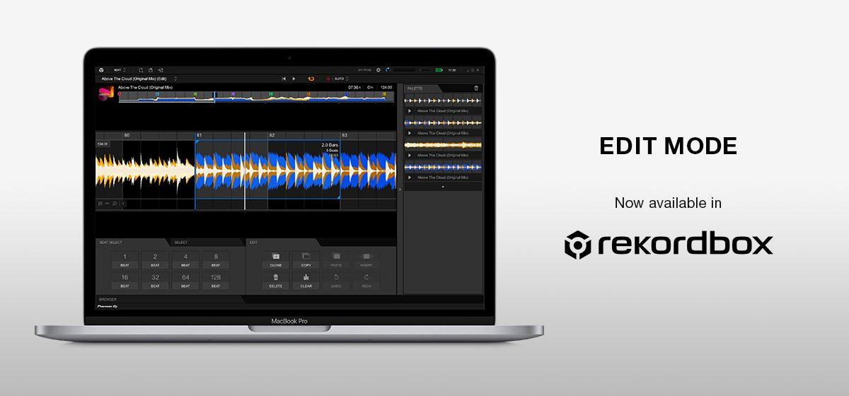 """Versus DJ: La actualización a rekordbox cuenta con un nuevo modo """"Edit"""" y compatibilidad con TIDAL"""